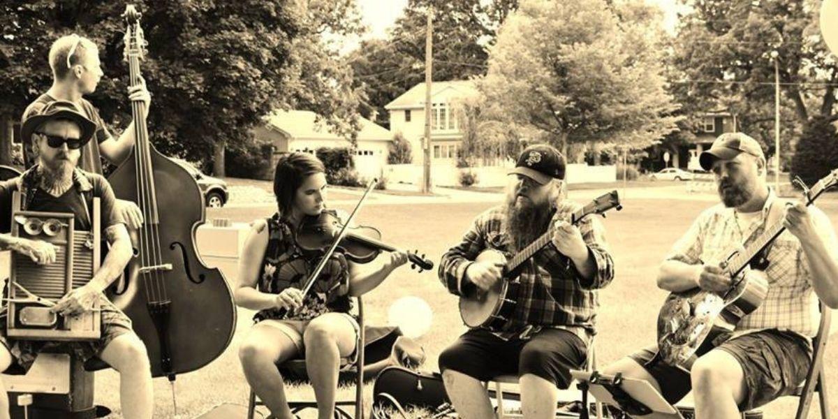 Cameron Bluegrass Festival: St. Paul Mudsteppers